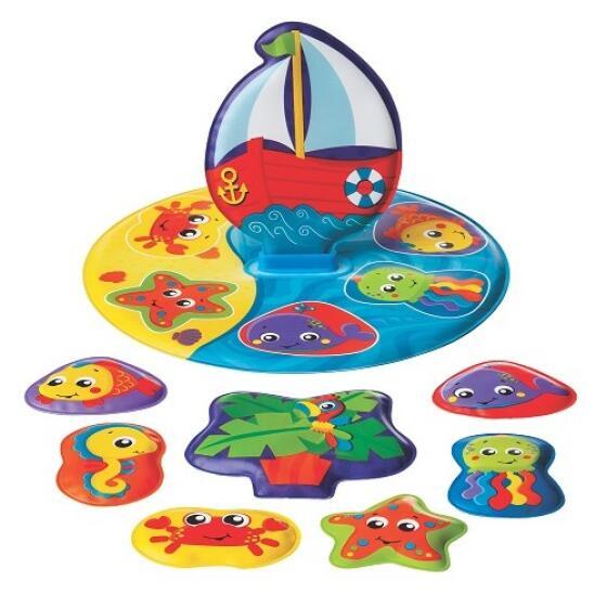 PLAYGRO - FLOATY BOAT BATH PUZZLE