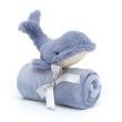 JELLYCAT - WILBUR WHALE SOOTHER