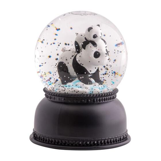 A LITTLE LOVELY COMPANY - PANDA SNOWGLOBE LIGHT