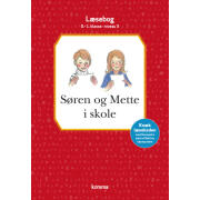 CARLSEN FORLAG - SØREN OG METTE I SKOLE LÆSEBOG
