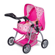 MINI MOMMY - DUKKEVOGN MED LIFT - PINK