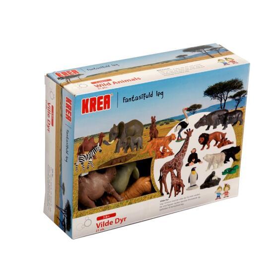 KREA - KREA WILD ANIMALS - 21PCS