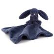 JELLYCAT - BASHFUL NAVY BUNNY SOOTHER