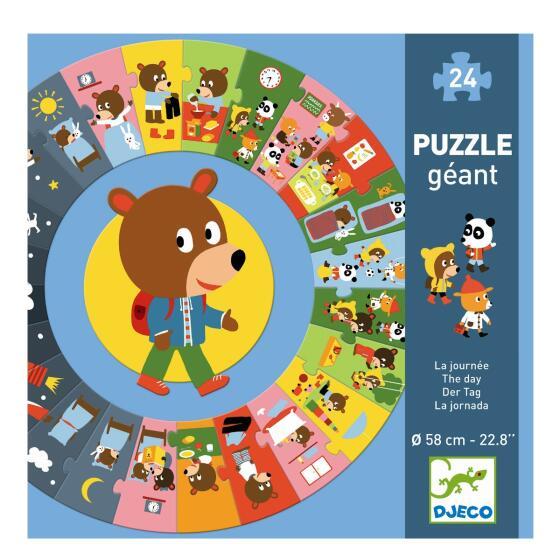 DJECO - GIANT PUZZLE - CIRKELPUSLESPIL