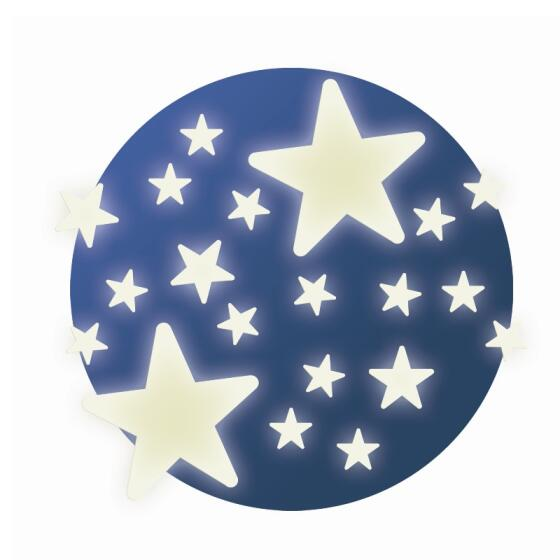 DJECO - STARS SELVLYSENDE WALLSTICKERS