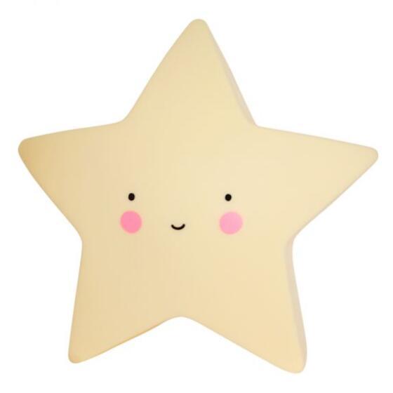 A LITTLE LOVELY COMPANY - YELLOW STAR LITTLE LIGHT