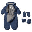 WHEAT - DOWN BABY SUIT