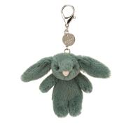 JELLYCAT - FOREST BUNNY BAG CHARM 8cm