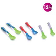 NUBY - ANGLED SPOON AND FORK