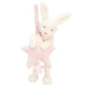 JELLYCAT - STAR BUNNY PINK MUSICAL