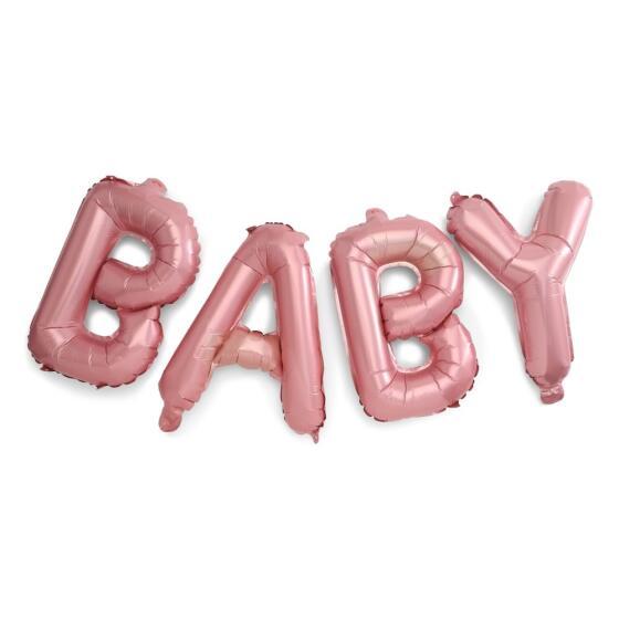 LUTTER LAGKAGE - PINK FOLIE BALLON BABY