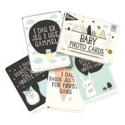 MILESTONE CARDS - OVER THE MOON